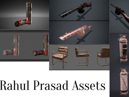 Game props and assets