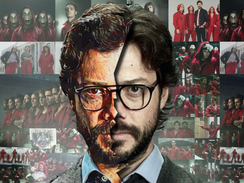 La casa de papel (Money Heist) Mosaic