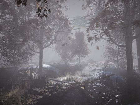 Abandoned Road Concept