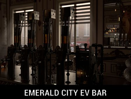 Emerald City Ev-Bar | CG Environment Reel