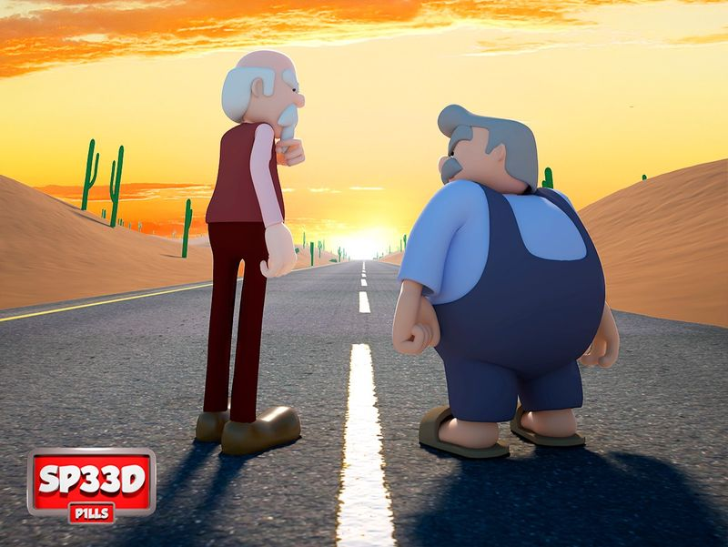 CGI Animated Short Film: Speed Pills