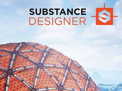 Sci-fi fabric texture