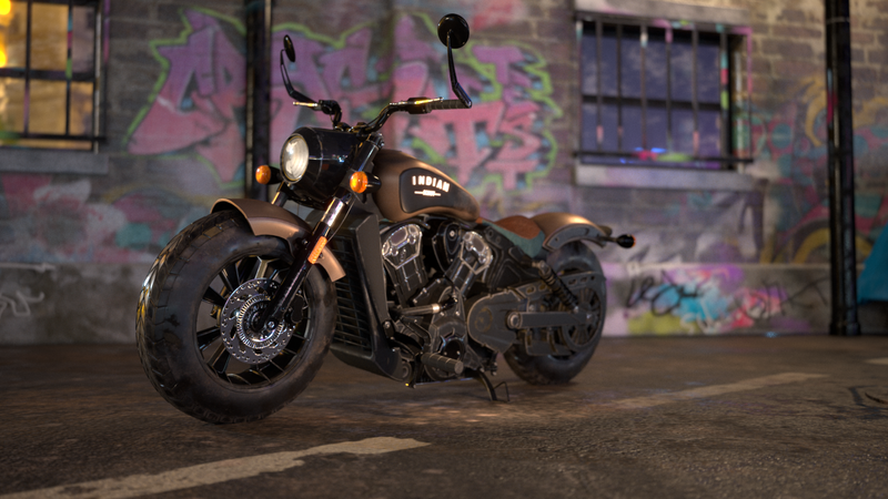 Motorbike - Scout Bobber