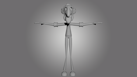 Sculpt and topology of a character