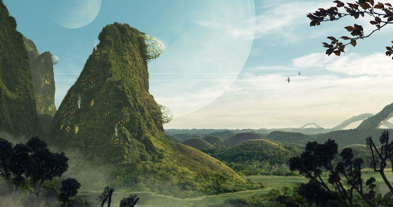 Star Wars inspired environments