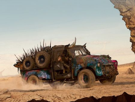 Mad Max vehicle