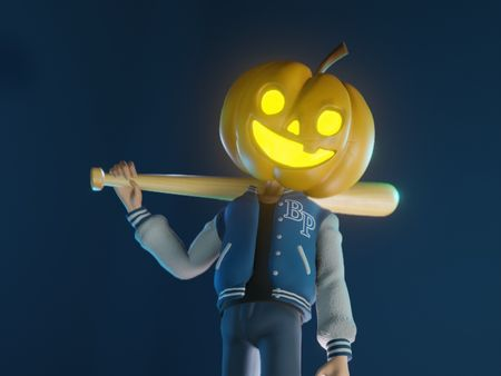 3D Halloween Character Sculpt - Billy the Pumpkin
