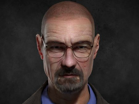 Walter White Digi Double