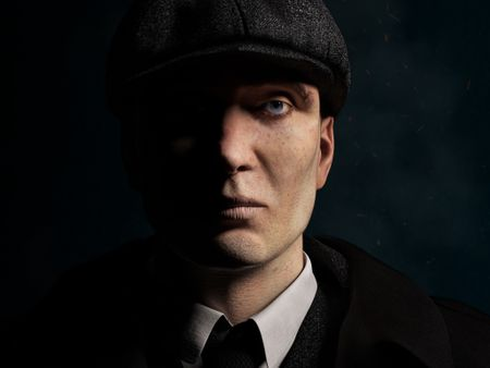 Thomas Shelby Portrait