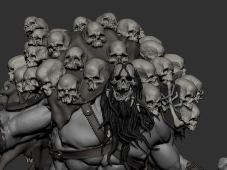 Undead Barbarian WIP