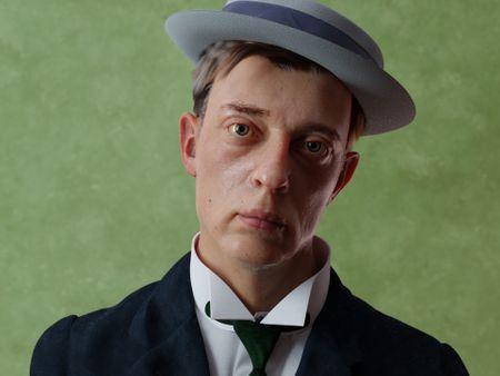 Portrait of Buster Keaton