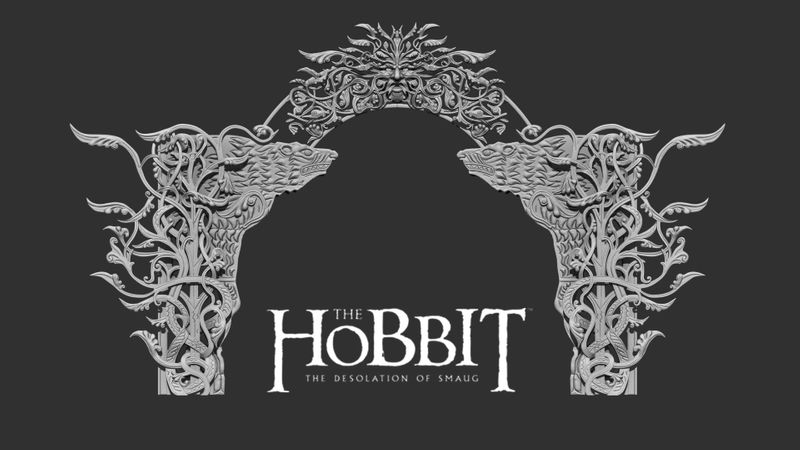 The Hobbit: The Desolation of Smaug - Beorn's House Door Frame