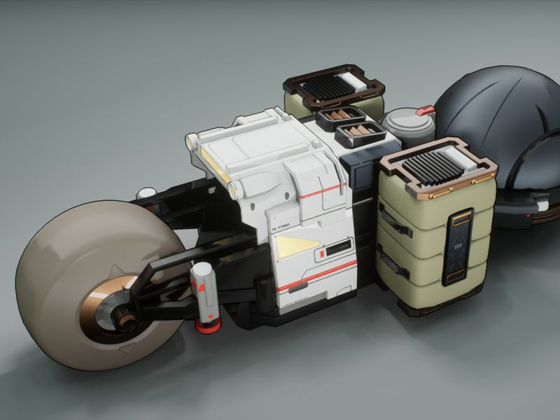 Planetary Bike - Concept to 3D