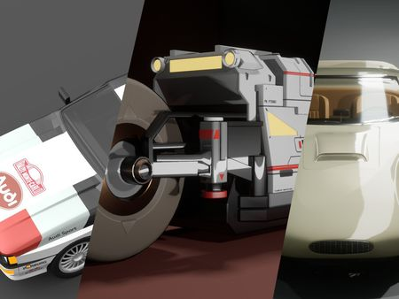 Robert Doman | 3D Vehicles