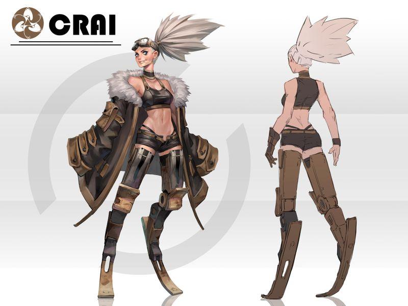 Crai-Character Concept