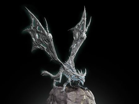 Sindragosa Sculpture
