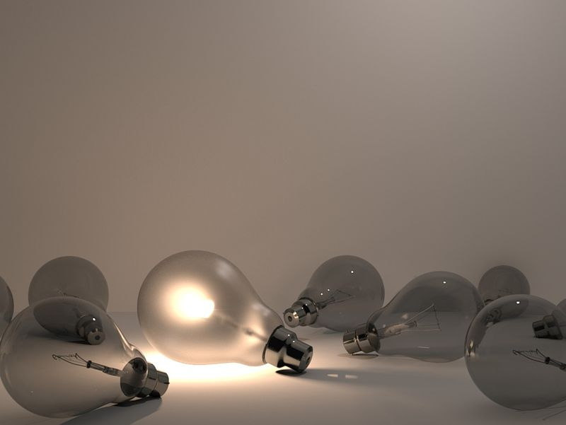 Photorealistic Light Bulbs