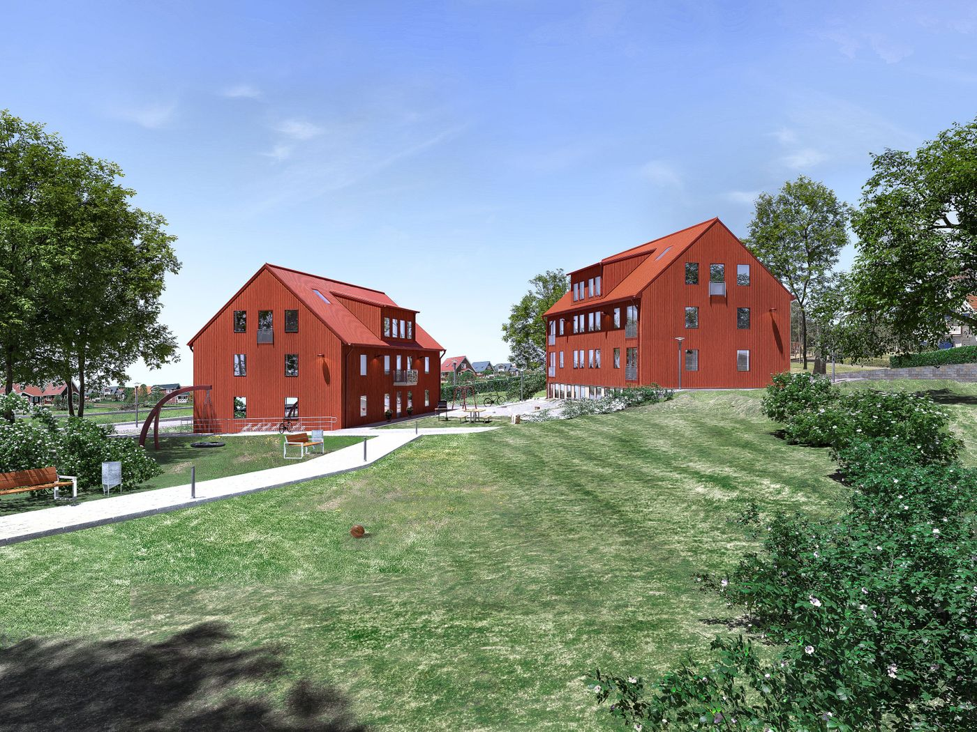 My second year with Architectural Visualisation at YRGO in Gothenburg, this is where my journey as a student of arch-viz ends and the future begins!