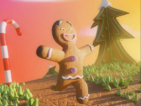 Gingy daydreams