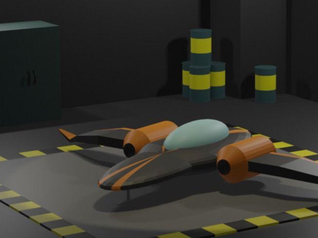 Spaceship Hanger