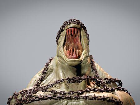 Roar Monster Creature( sculpt and textured)