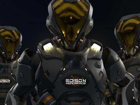 EDISON Venture Mk I Suit - Star Citizen Fan Art