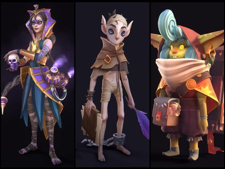 Stylized 3D Characters