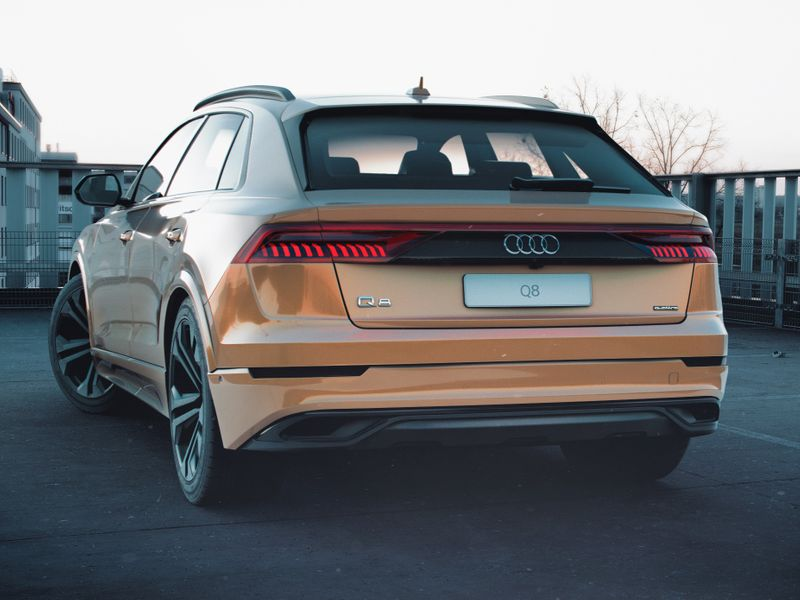 AUDI Q8 2019 - Lookdevelopment & Post processing