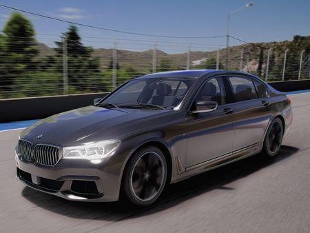 BMW 750li 2017 - Lookdevelopment & post processing