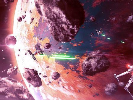 Star Wars | Kessel concept : Skywalker chase