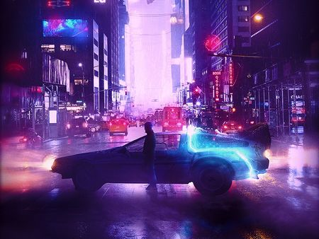 New York 2130 : Time Square district, Great Scott !