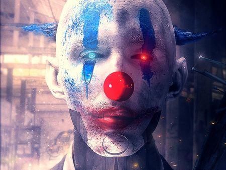New York 2130 : Clown gang member