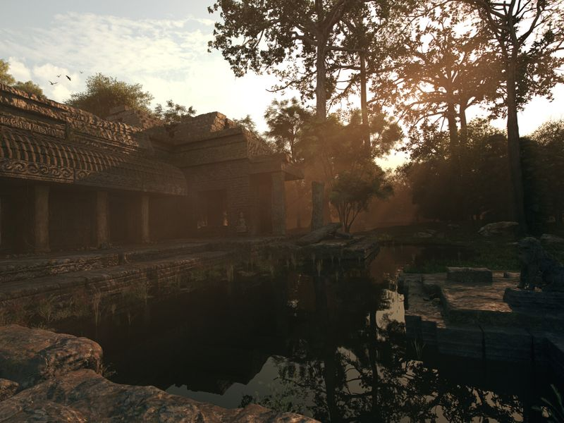The Forgotten Temple of Asia