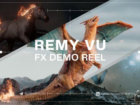FX Reel 2021 - Remy Vu