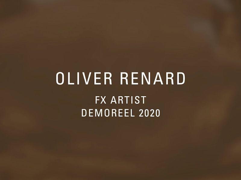 Oliver Renard - Demoreel 2020