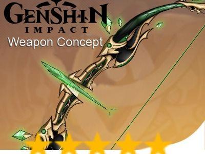 Weapon Concept - Genshin Impact