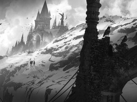 The Snow Queen sketches