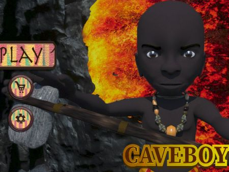 Caveboy - 3D sidescroller game