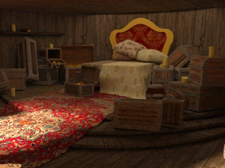 Jack Sparrow's Room