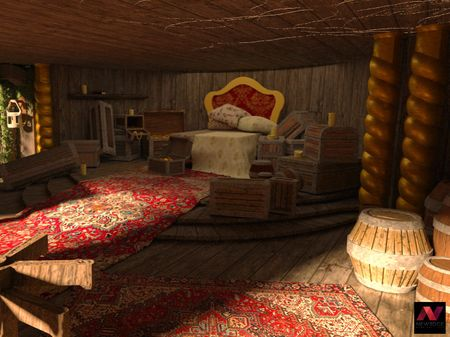 Jack Sparrow's Room (School Project)