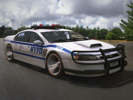 NYPD Chevrolet Impala 2013 (Exterior & Interior)