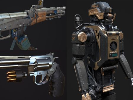 Hard Surface - Weapon Artist for Games