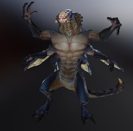 Flying Scorpion Fanart