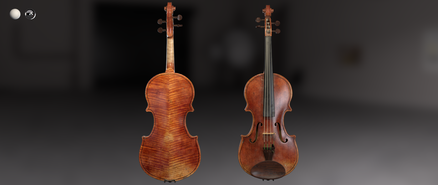 Render Violin 1 C Beauty Rhmnvfx