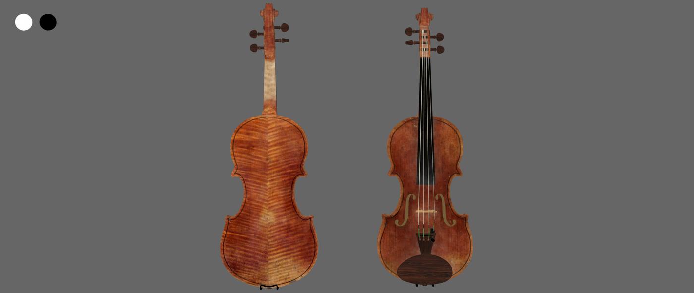 Render Violin 1 C Diffuse Rhmnvfx