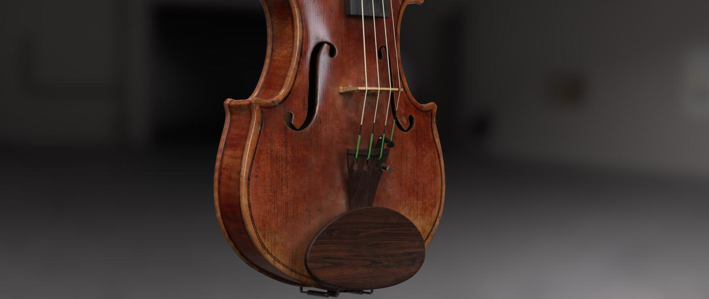 Render Violin 1 Rhmnvfx