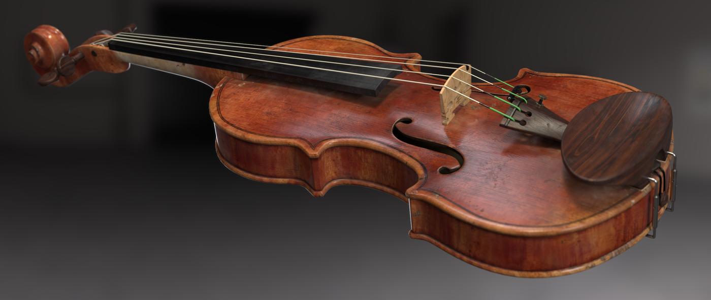 Render Violin 2 Rhmnvfx