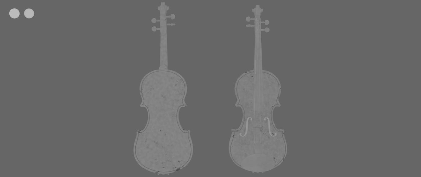 Render Violin 1 C Bump Rhmnvfx