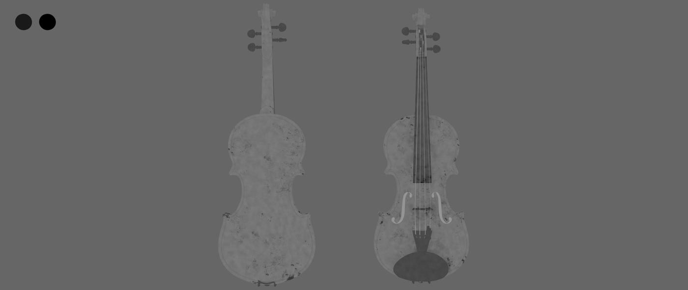 Render Violin 1 C Coat Roughness Rhmnvfx