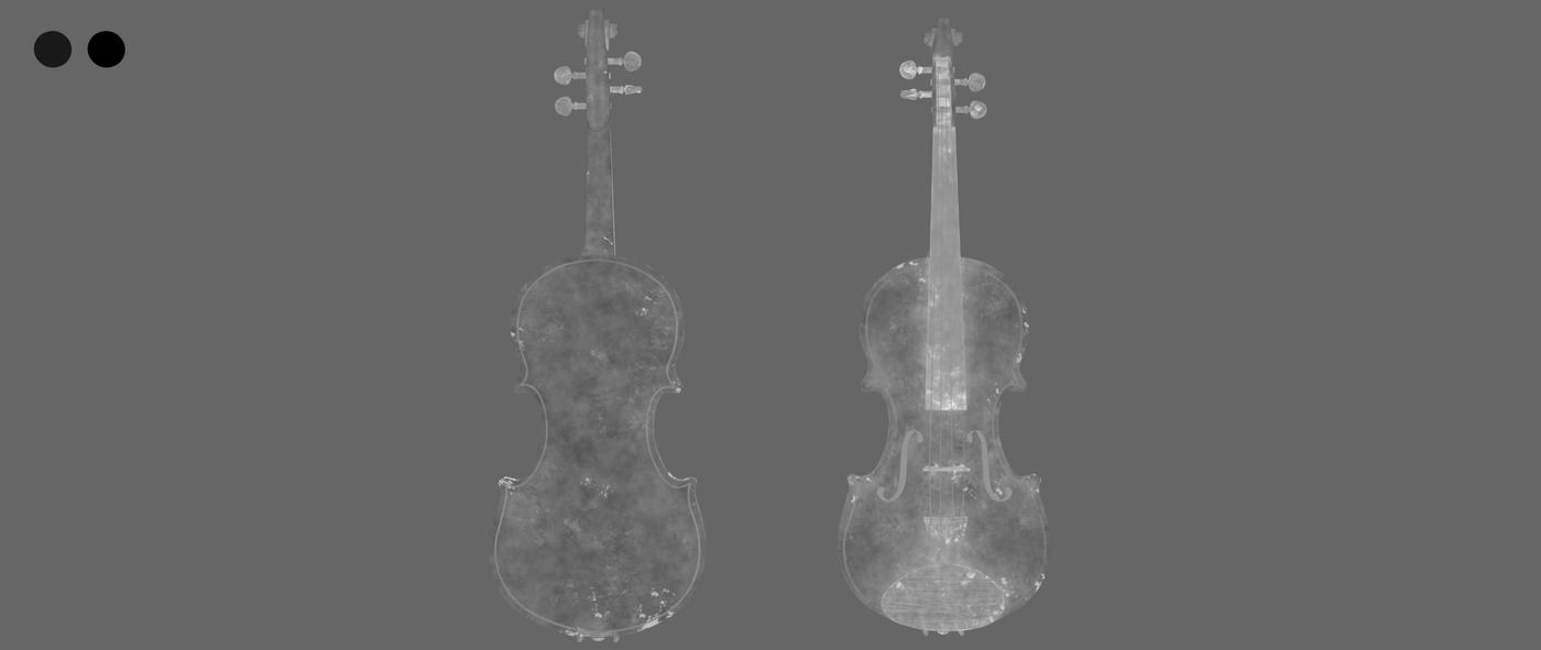 Render Violin 1 C Roughness Rhmnvfx